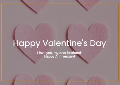 valentine card 176 heart business card
