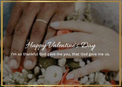 valentine card 199 plant person