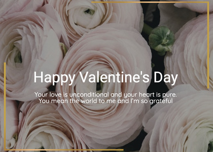 valentine card 200 homedecor plant