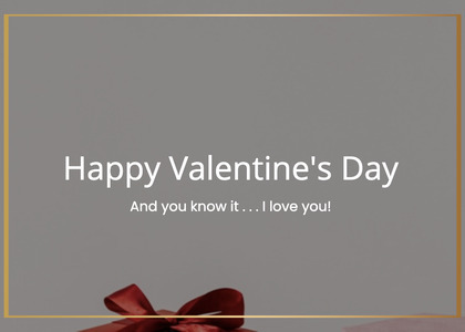 valentine card 202 text business card