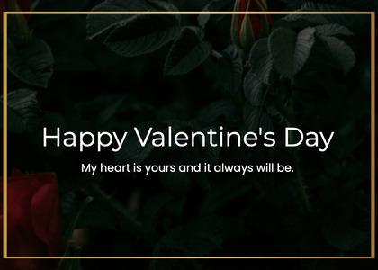 valentine card 203 plant vegetation