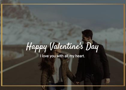 valentine card 210 person human