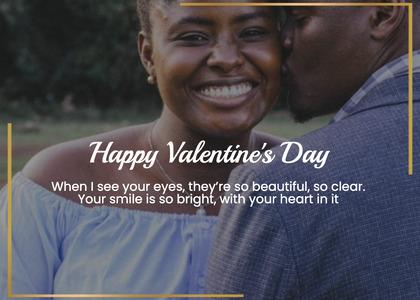 valentine card 221 face person