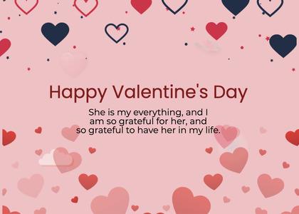 valentine card 224 text paper