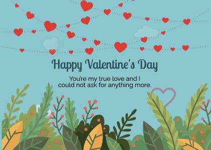 valentine card 226 paper floraldesign