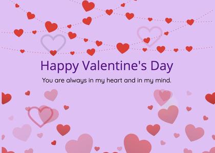 valentine card 230 paper confetti