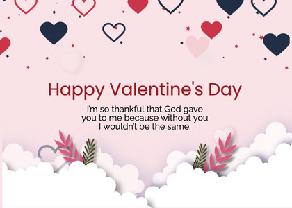 valentine card 234 paper text