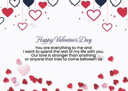 valentine card 235 petal flower
