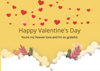 valentine card 236 floraldesign art