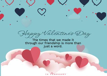 valentine card 237 paper greeting card