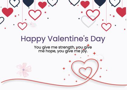 valentine card 239 text paper