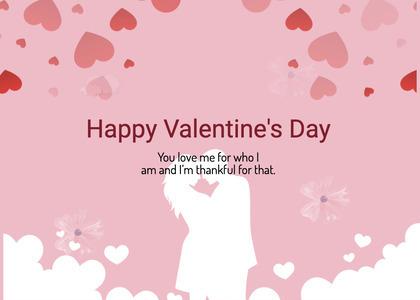 valentine card 245 flyer brochure