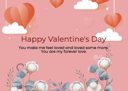 valentine card 246 text flyer