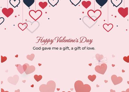 valentine card 248 text paper