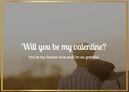 valentine card 25 person human