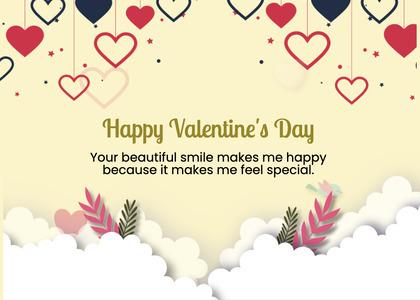 valentine card 254 mail envelope