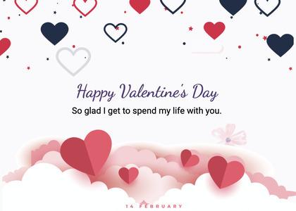 valentine card 255 mail envelope