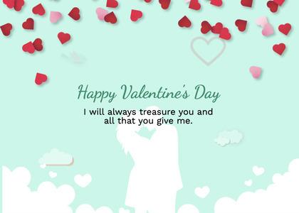 valentine card 256 petal flower