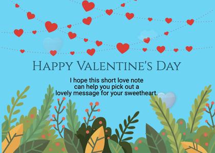 valentine card 257 paper flyer