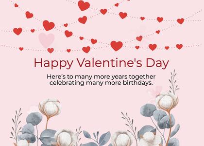 valentine card 258 paper advertisement