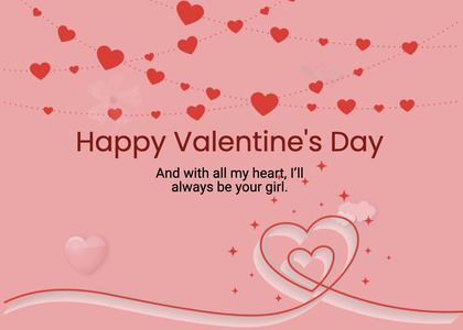 valentine card 266 paper text
