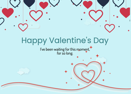 valentine card 267 text page