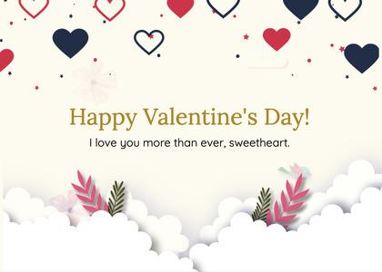 valentine card 269 paper graphics