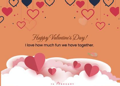 valentine card 272 paper greeting card