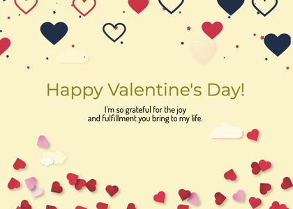 valentine card 275 petal plant