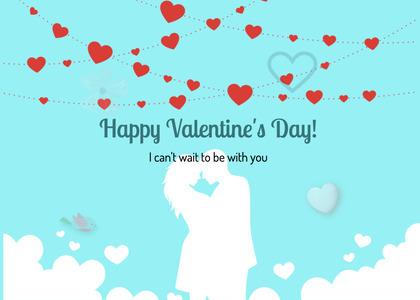 valentine card 276 paper flyer