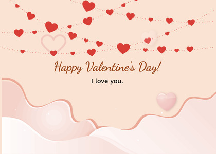 valentine card 279 menu text