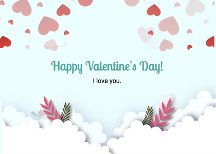 valentine card 281 paper graphics