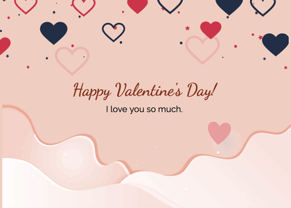 valentine card 283 text heart