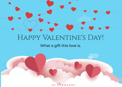 valentine card 284 flyer advertisement