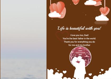 valentine card 295 advertisement poster