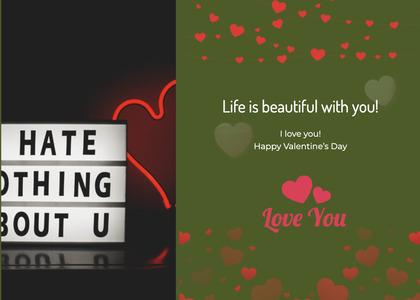 valentine card 296 text advertisement