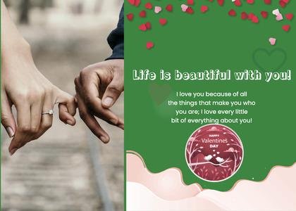 valentine card 299 advertisement poster