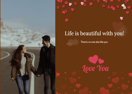 valentine card 302 person human
