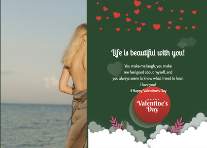 valentine card 303 person human