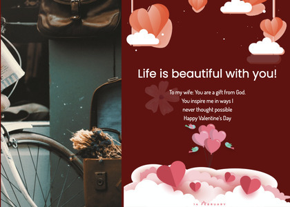 valentine card 316 advertisement poster