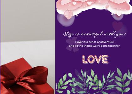 valentine card 326 flyer advertisement