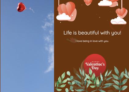valentine card 332 advertisement poster