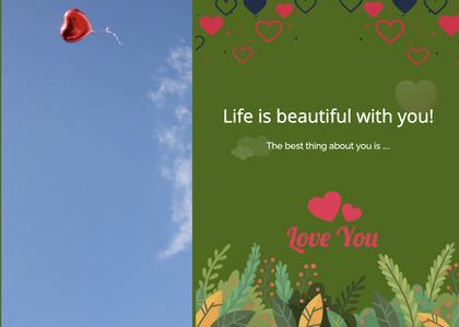 valentine card 337 advertisement poster