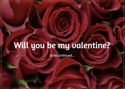 valentine card 34 rose plant