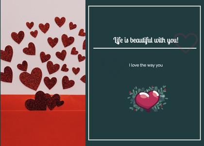 valentine card 348 advertisement paper