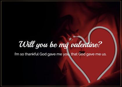 valentine card 36 light dating