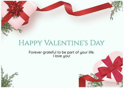 valentine card 363 gift text