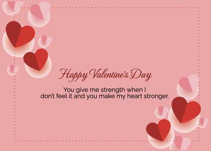 valentine card 368 text paper