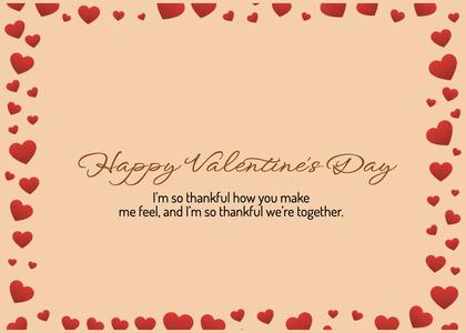 valentine card 374 text paper