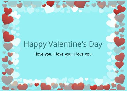 valentine card 376 envelope mail